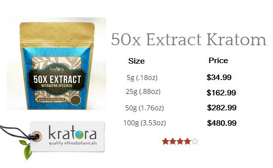 50x Extract Kratom