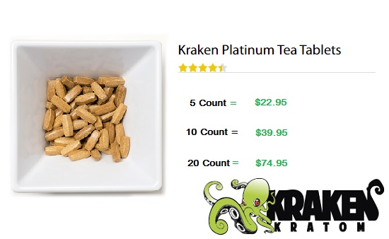 Kraken Platinum Tea Tablets