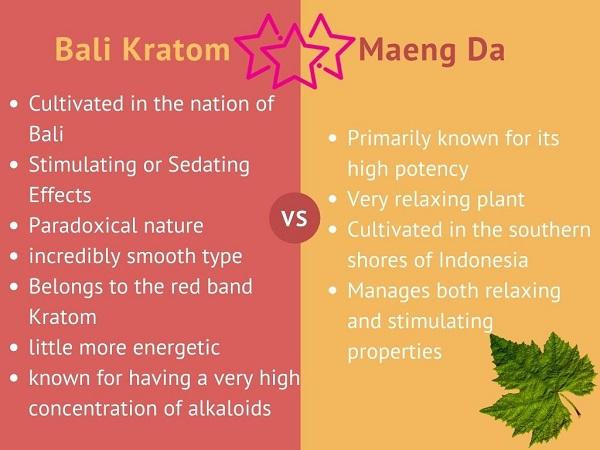Bali vs Maeng Da