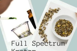 Full Spectrum Kratom Tincture