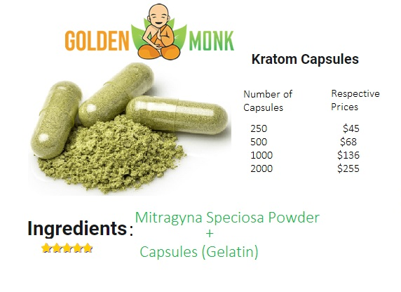 Golden Monk Capsules