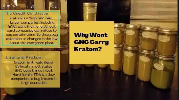 Buy Kratom At The GNC