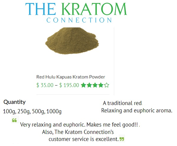 Kratom Connection Products