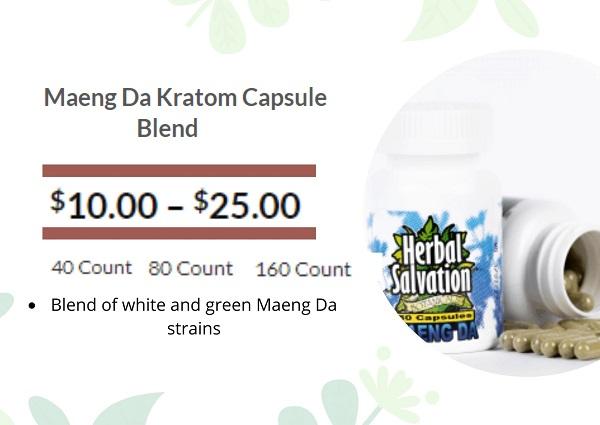 Herbal Salvation Maeng Da Kratom
